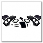 HOGTUNES 6x9 SPEAKER (LOADED) SADDLEBAG LIDS KIT 1998-2013 HARLEY TOURING