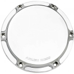 NESS Beveled Chrome Derby Cover For Harley Big Twin 99-2014