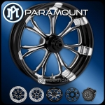 Performance Machine Paramount Contrast Cut Wheel Harley Bagger 23""