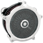 PM SUPER GAS (CHROME) AIR CLEANER HARLEY FL 2008-2014