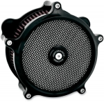 PM SUPER GAS BLACK AIR CLEANER HARLEY TOURING 2008-2014
